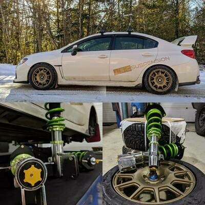 Subaru 2015+ WRX/STi Triple S Inverted Coilover
