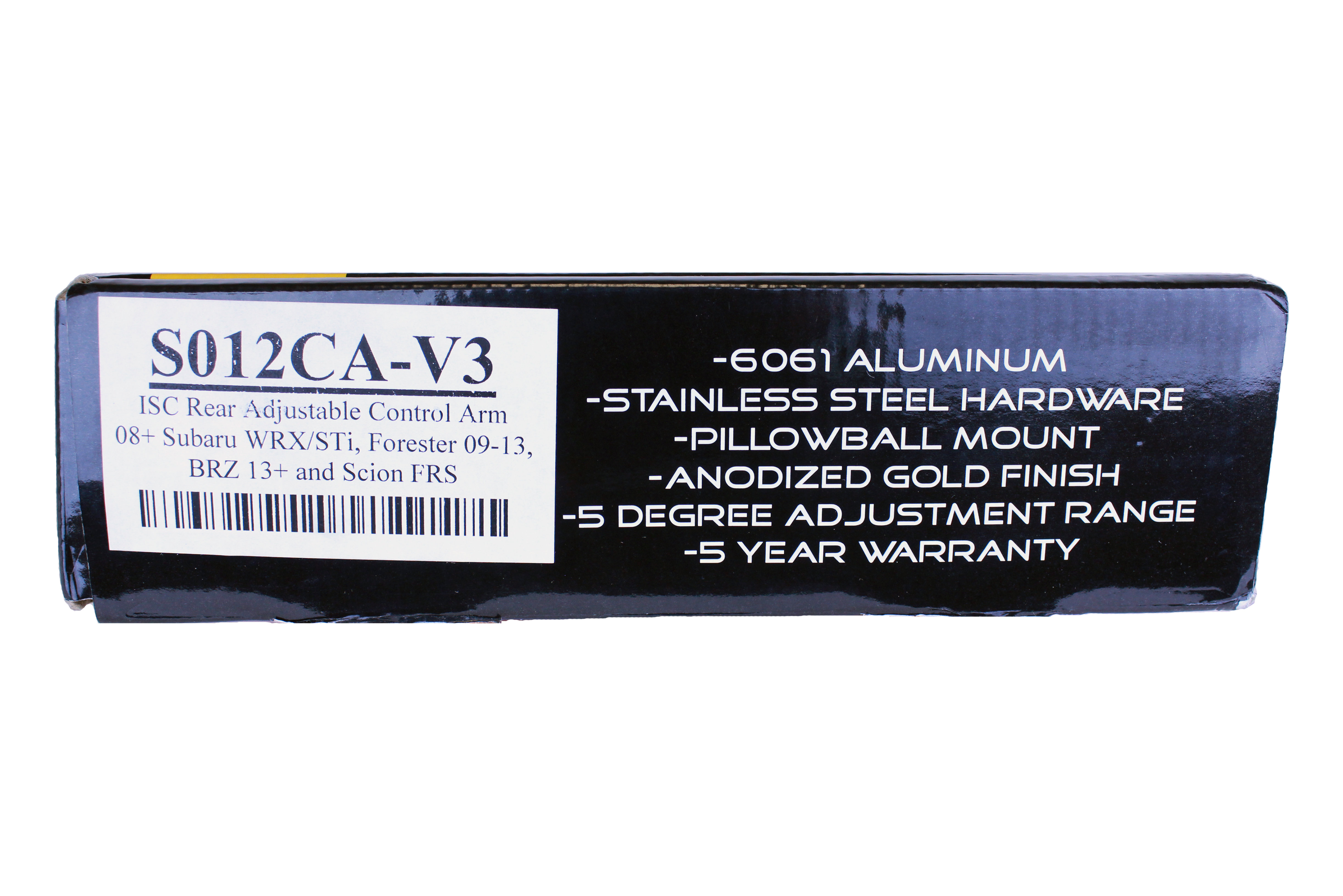 ISC Rear Adjustable Control Arms V3