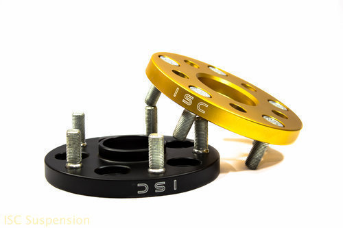 GOLD ISC 5x100 to 5x114.3 Wheel Adapters 15mm WA15G