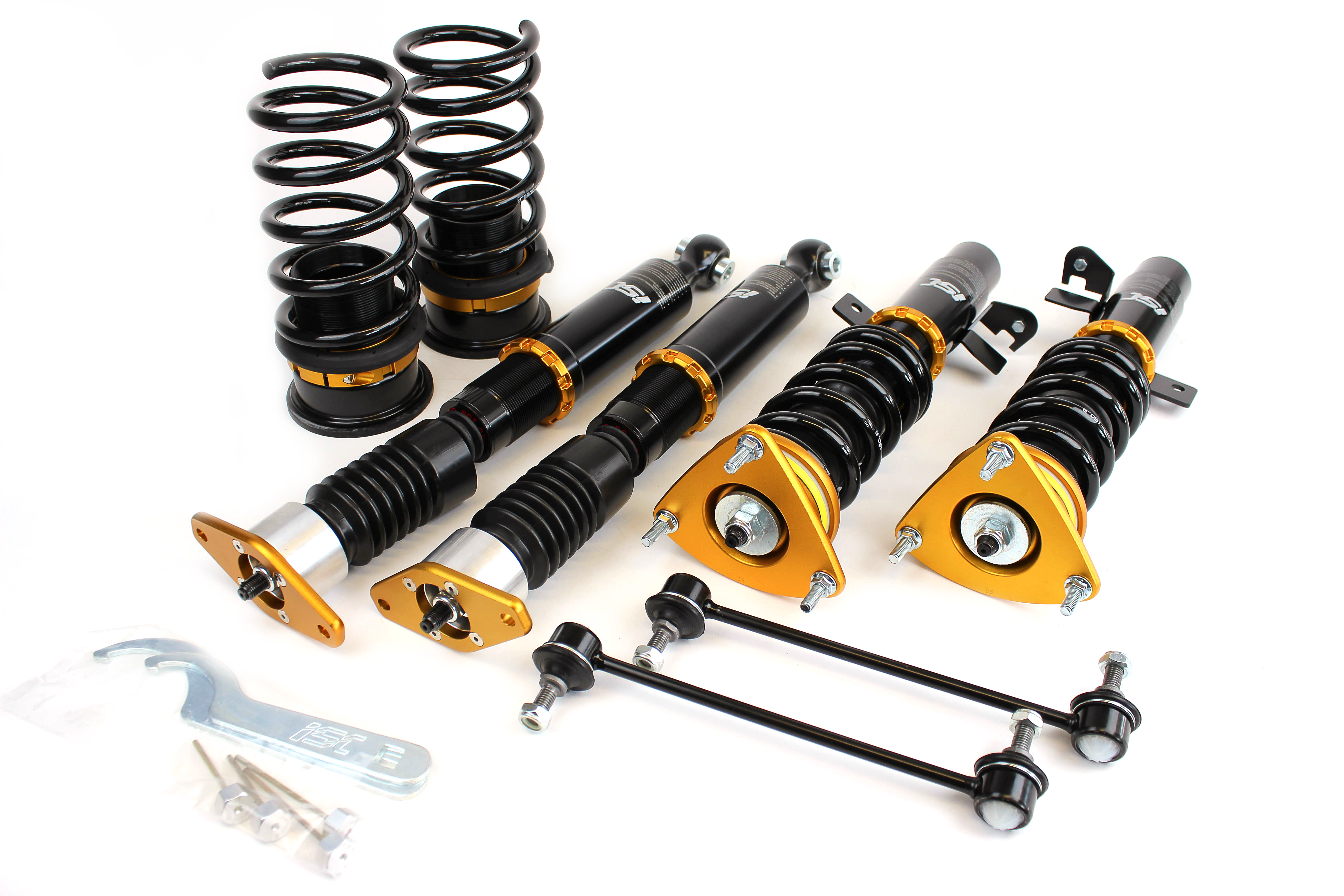 Ford Focus Gen3 11-17 ISC Basic Coilover Suspension F016B