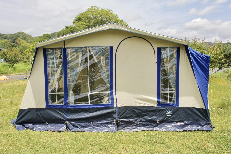 イギリス製 SunnCamp Grange 大型ロッジ 大家族用