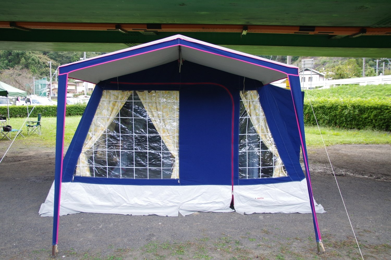 マルシャル セボンヌ5 5人用 極上美品 フルコットン 格子窓 ヴィンテージ幕 フレームテント Marechal