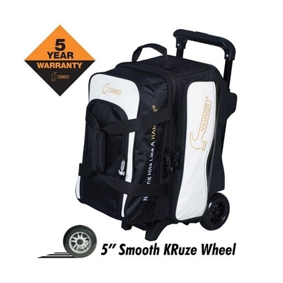 Hammer Vibe Black/White 2 Ball Roller Bowling Bag