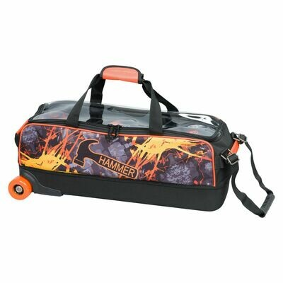 Hammer Dye Sublimated 3 Ball Tote Bowling Bag