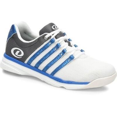Dexter Kevin White/Grey/Blue Mens Bowling Shoes