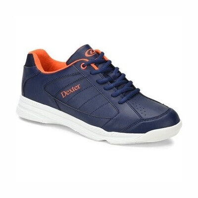 Dexter Ricky Navy/Orange Bowling Shoes
