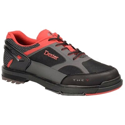 Dexter THE 9 HT Black/Red/Grey Mens Bowling Shoes