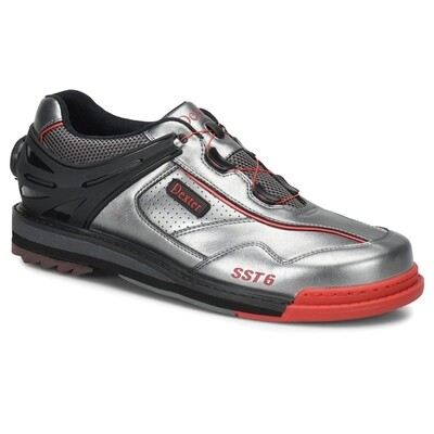 Dexter SST 6 Hybrid BOA Grey/BlackRed Right Handed Mens Bowling Shoes
