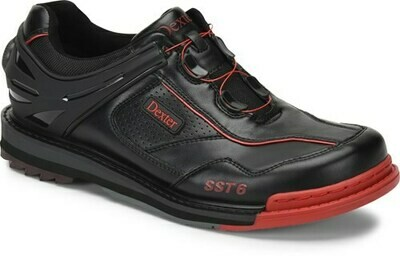 Dexter SST 6 Hybrid BOA Black/Red Right Handed Mens Bowling Shoes