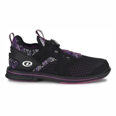 Dexter Pro BOA Black/Purple Womens Bowling Shoes