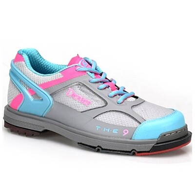 Dexter THE 9 HT Grey/Blue/Pink Womens Bowling Shoes