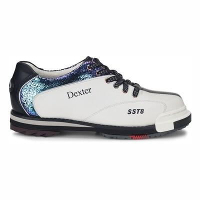 Dexter SST 8 Pro White/Crackle/Black Womens Bowling Shoes