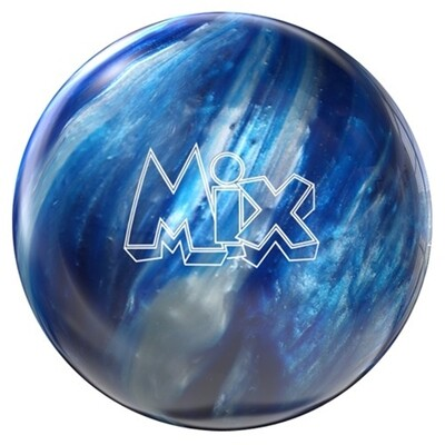 Storm Mix Blue/Silver Bowling Ball
