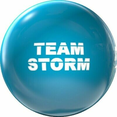 Storm Team Storm Clear Poly Bowling Ball