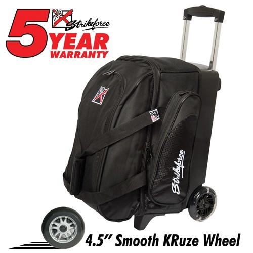 KR Cruiser Smooth 2 Ball Roller Black