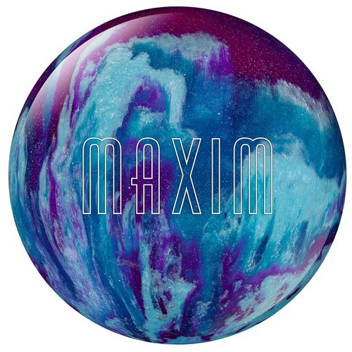 Ebonite Maxim Purple/Royal/Silver 1083