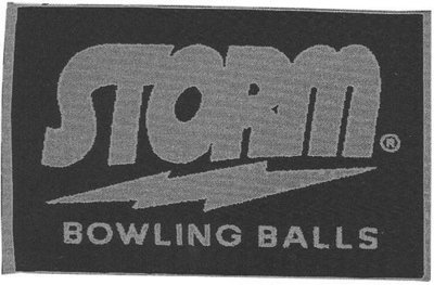 Storm Signature Towel Silver/Navy