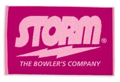 Storm Signature Towel Pink