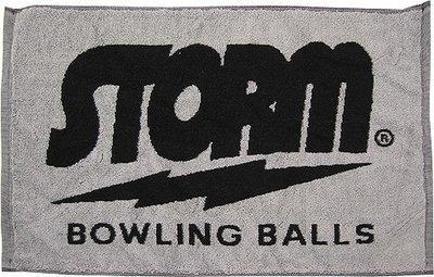 Storm Signature Towel Black/Grey