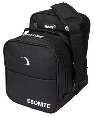 Ebonite Compact Single Black 1 Ball Bowling Bag