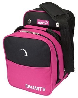 Ebonite Compact Single Pink 1 Ball Bowling Bag