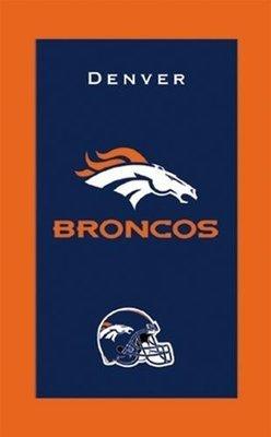 KR NFL Bowling Towel Denver Broncos