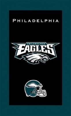 KR NFL Bowling Towel Philadelphia Eagles
