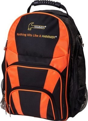 Hammer Black/Orange Tournament Bowlers Backpack