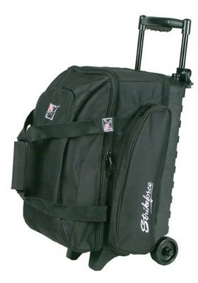 KR Eliminator Black 2 Ball Roller Bowling Bag