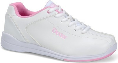 Dexter Womens Raquel IV White/Pink Bowling Shoes