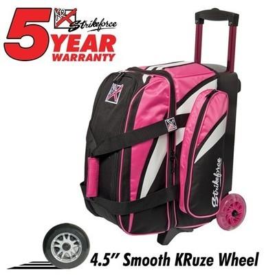 KR Cruiser Smooth 2 Ball Roller Pink/White/Black