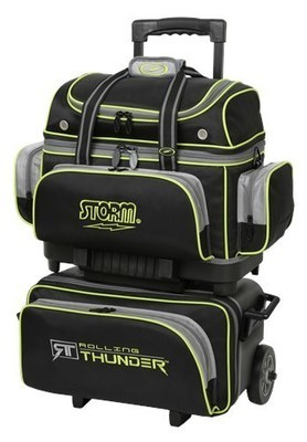 Storm Rolling Thunder Black/Grey/Lime 4 Ball Roller