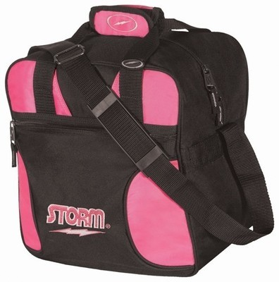 Storm Solo Tote Black/Pink