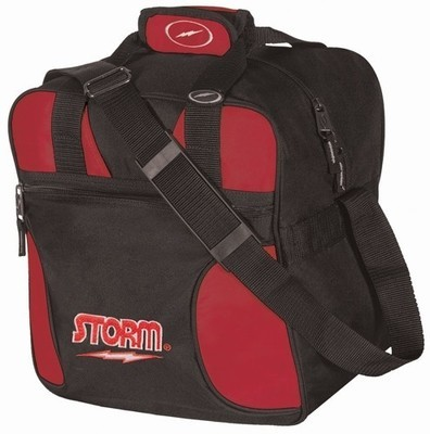 Storm Solo Tote Black/Red