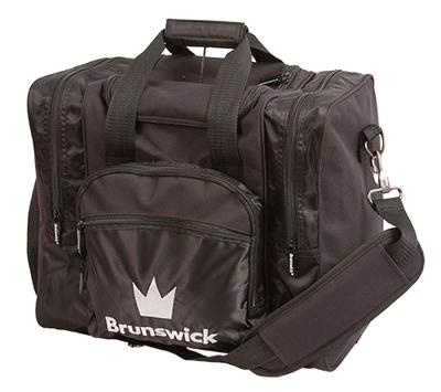 Brunswick Edge Black 1 Ball Bowling Bag