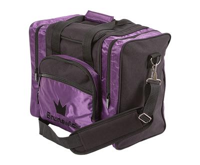 Brunswick Edge Purple 1 Ball Bowling Bag