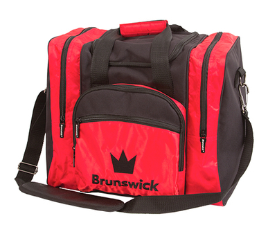 Brunswick Edge Black/Red 1 Ball Bowling Bag