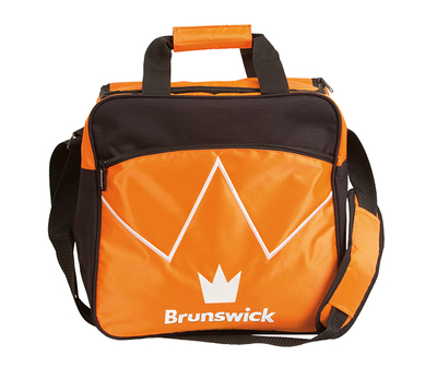 Brunswick Blitz Orange 1 Ball Bowling Bag