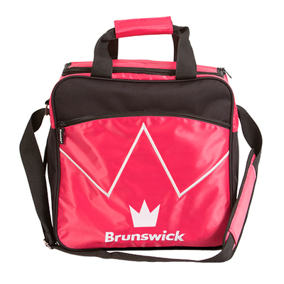 Brunswick Blitz Pink 1 Ball Bowling Bag