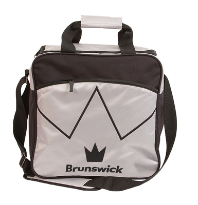 Brunswick Blitz Silver 1 Ball Bowling Bag