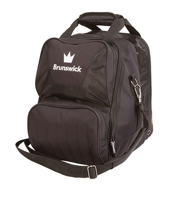 Brunswick Crown Black 1 Ball Bowling Bag