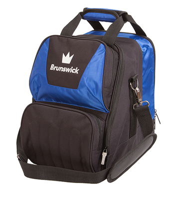 Brunswick Crown Blue 1 Ball Bowling Bag