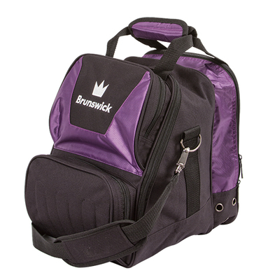 Brunswick Crown Purple 1 Ball Bowling Bag