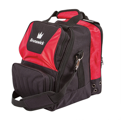 Brunswick Crown Red 1 Ball Bowling Bag