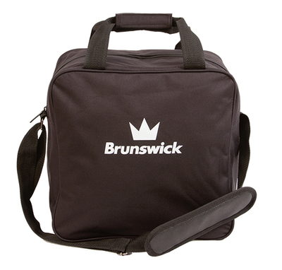 Brunswick TZone Black 1 Ball Bowling Bag