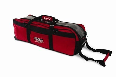 Storm Tournament 3 Ball Roller/Tote Red