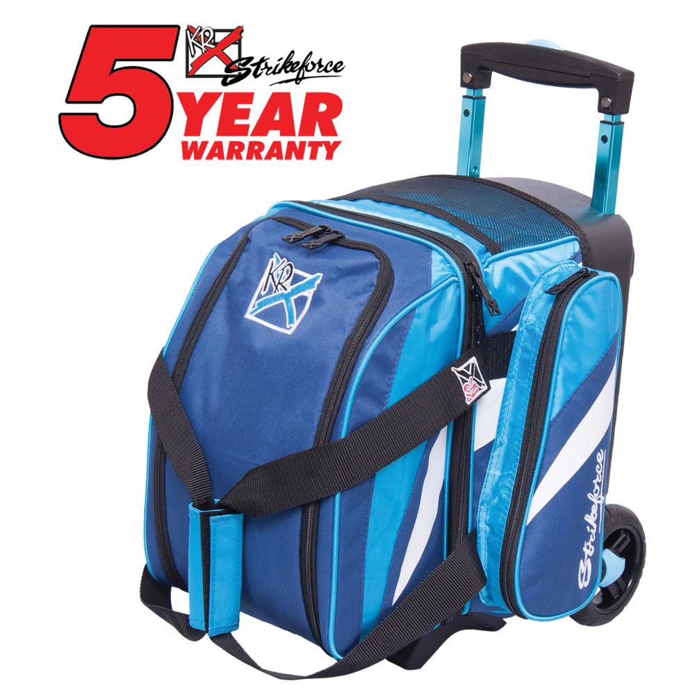 KR Cruiser 1 Ball Roller Navy/Aqua Bowling Bag 512