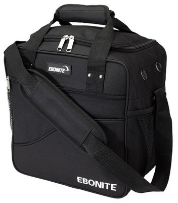 Ebonite Basic Single Black 1 Ball Bowling Bag