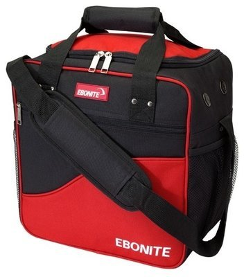 Ebonite Basic Single Red/Black 1 Ball Bowling Bag
