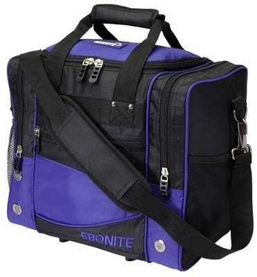 Ebonite Impact Single Blue/Black 1 Ball Bowling Bag
